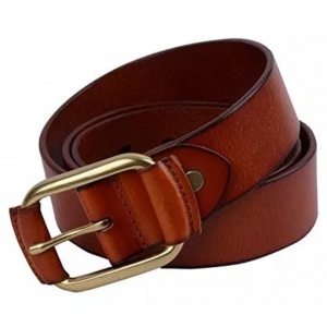 Pure leather Brown Belt