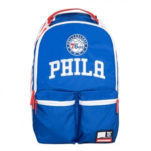 Blue Philadelphia backpack with logo by addictionentps