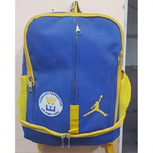 light blue and yellow diplomat loins book bag by addictionentps