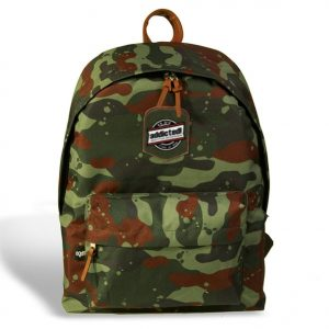 Camouflage backpack with logo by addictionentps